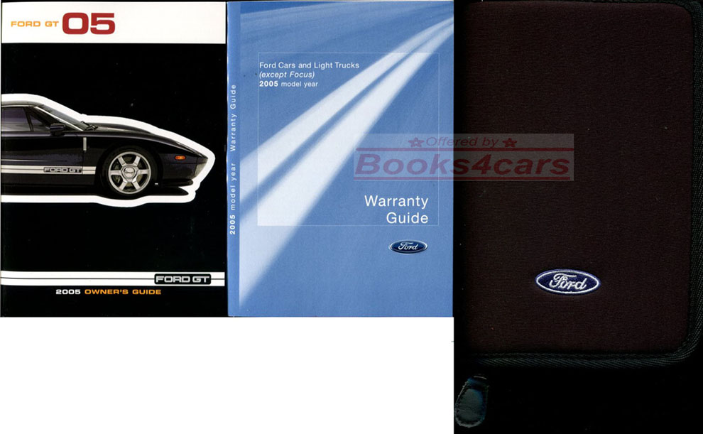 Ford Gt Owners Manual B_fordgt_om Not A Shop Manual