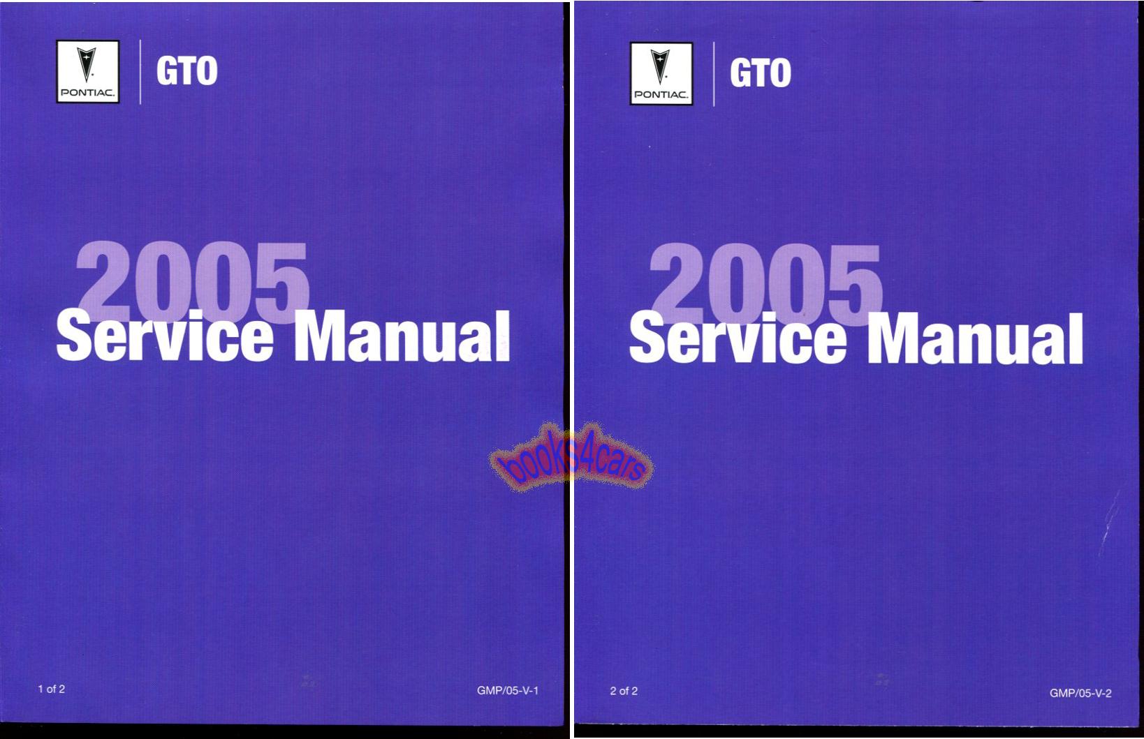 pontiac gto manuals at books4cars com rh books4cars com 2005 pontiac gto service manual 2005 gto service manual free