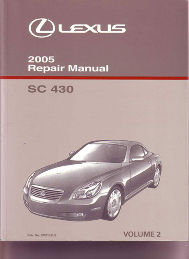 lexus sc430 manuals at books4cars com rh books4cars com 1995 Lexus SC400 Used 2002 Lexus SC430