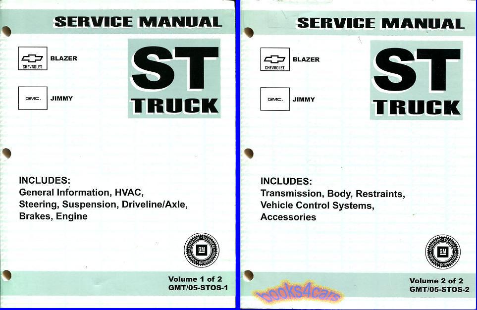 2002 oldsmobile bravada service repair manual software