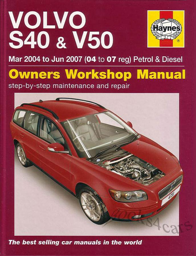 Volvo v50 service manual