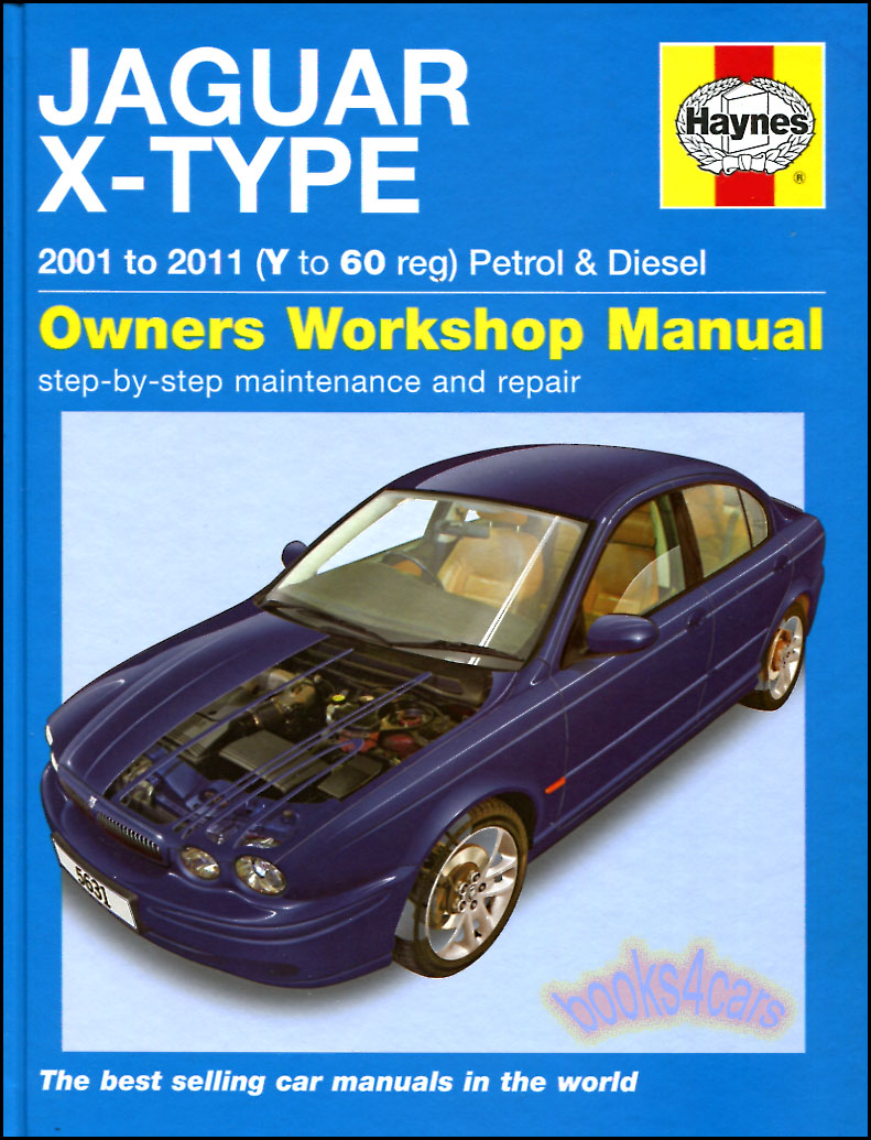 jaguar x type shop manual service repair book haynes chilton awd rh ebay com Jaguar Manual Transmission Jaguar Manual Transmission