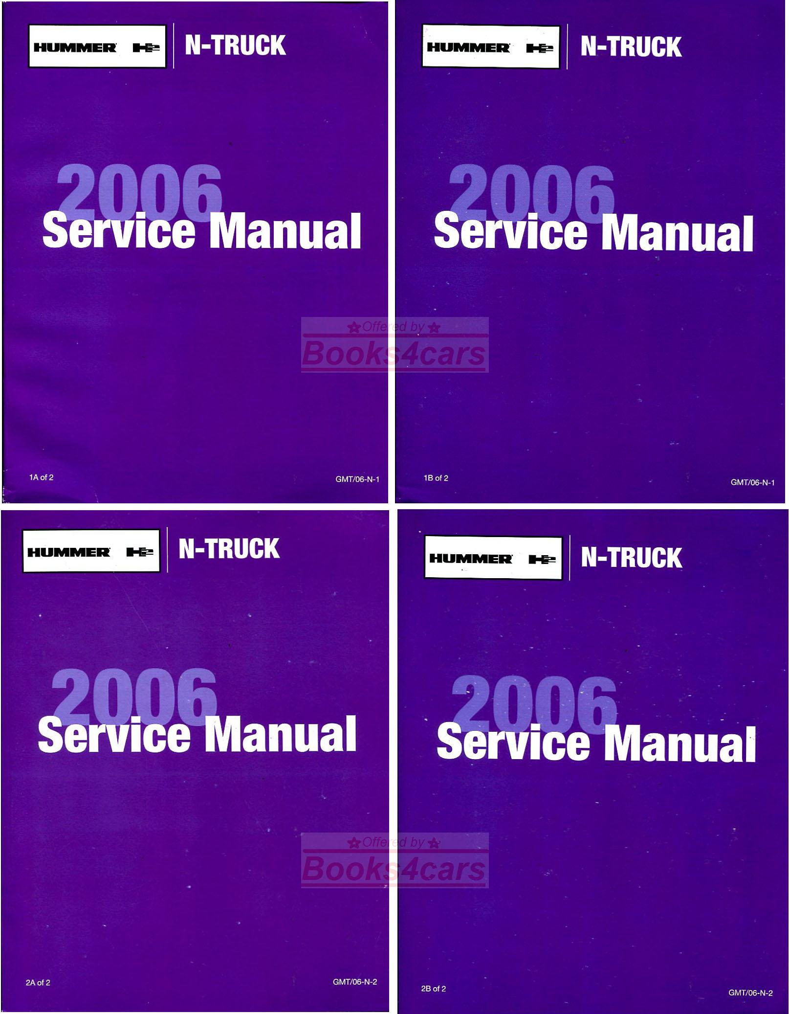 Hummer Shop Manual Digital Meter Wiring Diagram Emprendedor Link On Amp 2009 H3 Fuse Box Schematics Wiper 2006 Array Manuals At Books4cars Com Rh