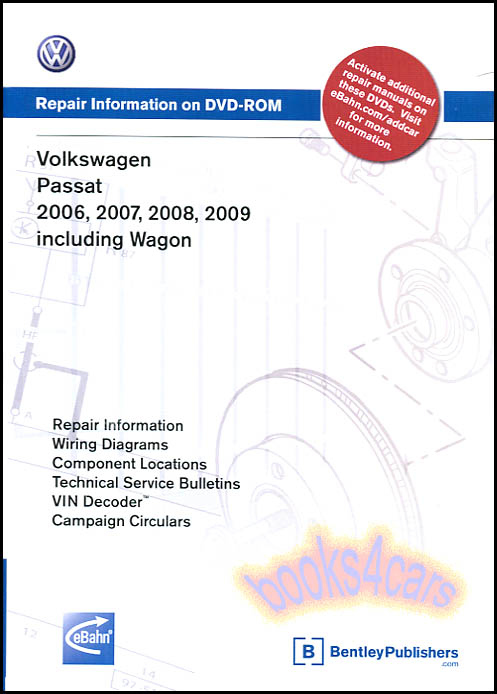 passat shop manual service repair volkswagen book bentley vw dvd 06 rh ebay com 2008 Passat 2006 Passat