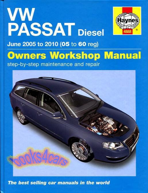 Shop manual service repair book audi a4 volkswagen passat haynes.