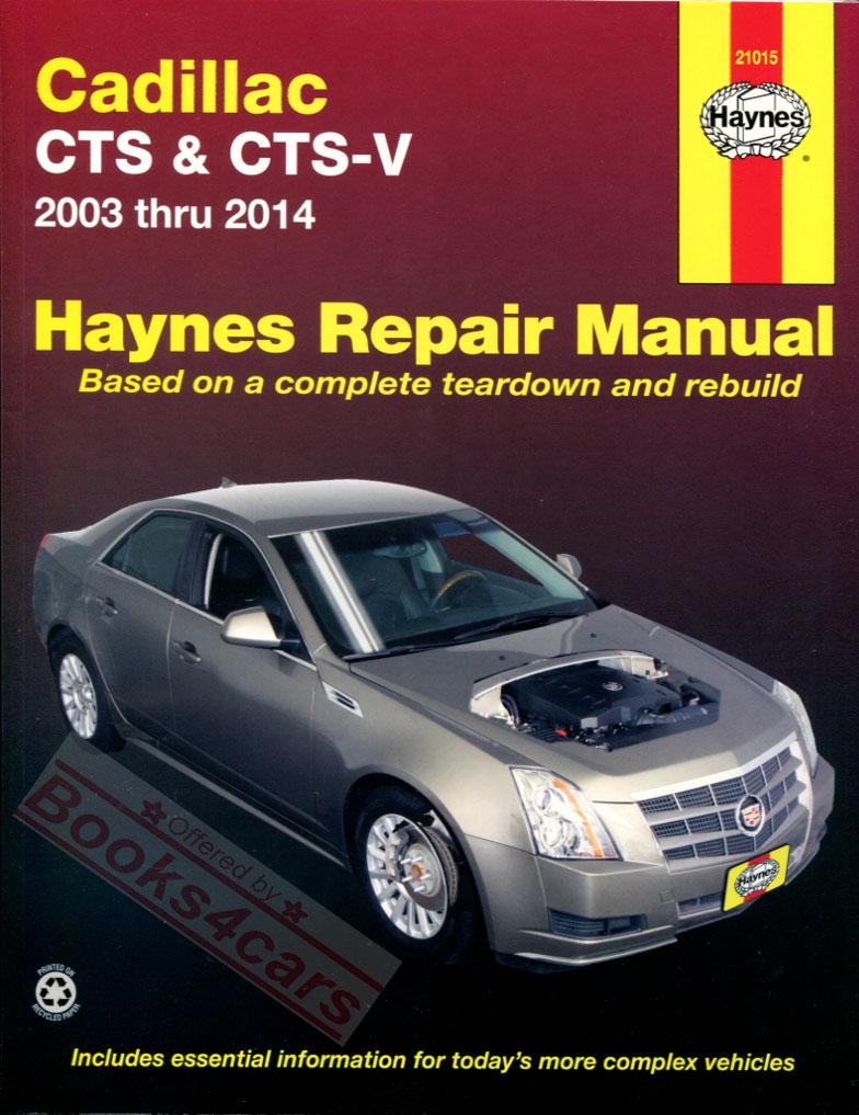 Cadillac manuals at books4cars com