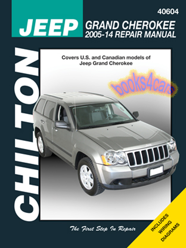 grand cherokee shop manual service repair book chilton jeep haynes rh ebay com