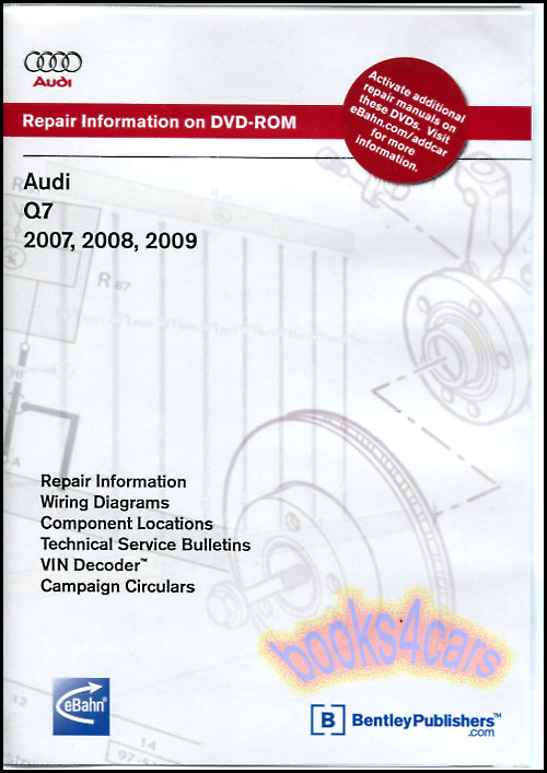 2009 Audi Q7 Wiring Diagram - Trusted Wiring Diagram