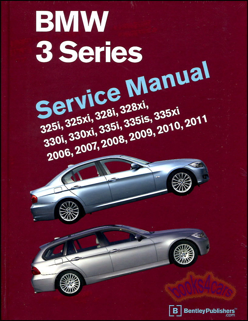 HUGE REAL BOOK 1,256 page Complete Shop Service Repair Manual for all  2006-2010 BMW 3-Series covering all mechanical, electrical, body, interior,  engine, ...