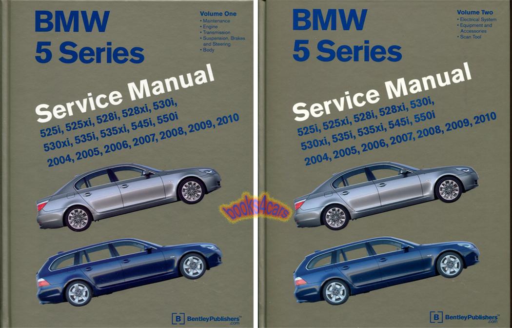 shop manual service repair bentley bmw 5 series book workshop e60 rh ebay com BMW 5 Series BMW 5 Series