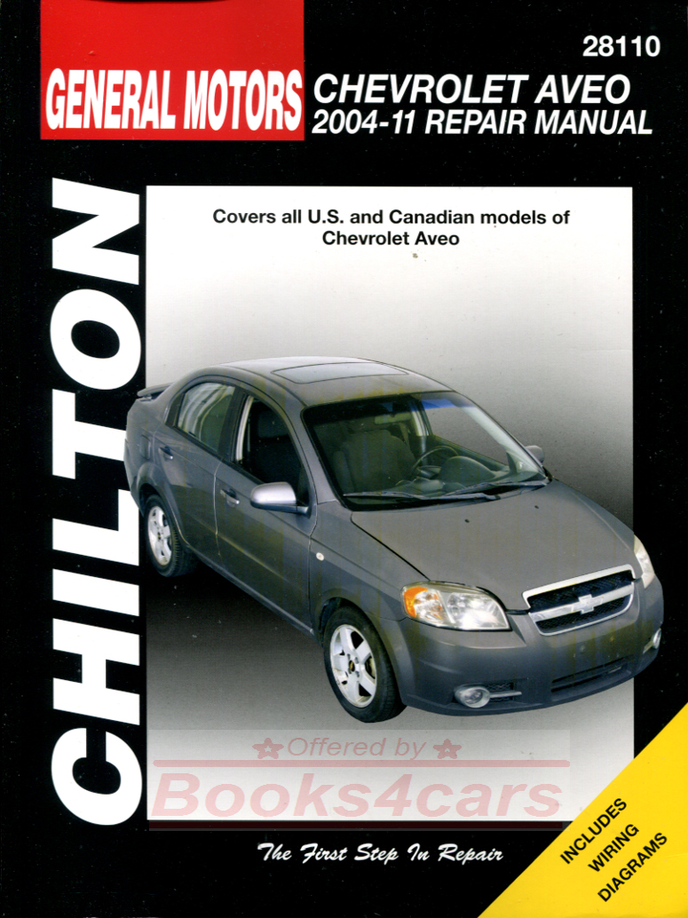 REAL BOOK bumper to bumper Shop Service Repair Manual for all 2004-2011  Aveo models. Book is in New, never-opened condition
