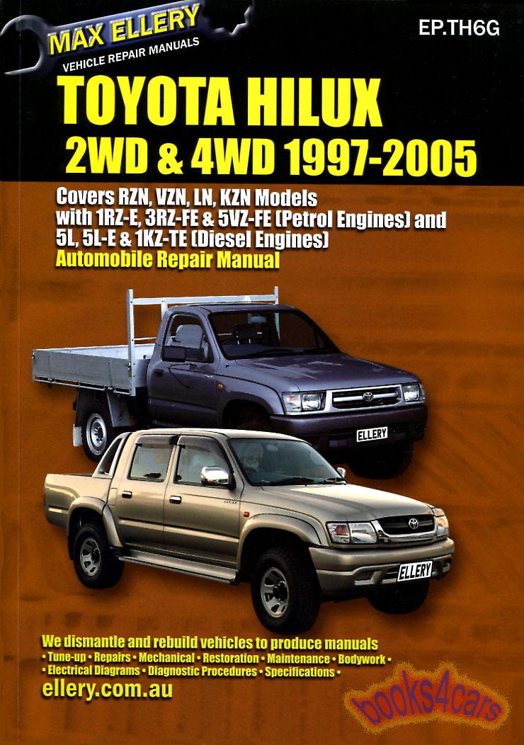 toyota pickup truck shop manual service repair book ellery guide tacoma ebay Toyota Tacoma Manual Toyota Manual Interior