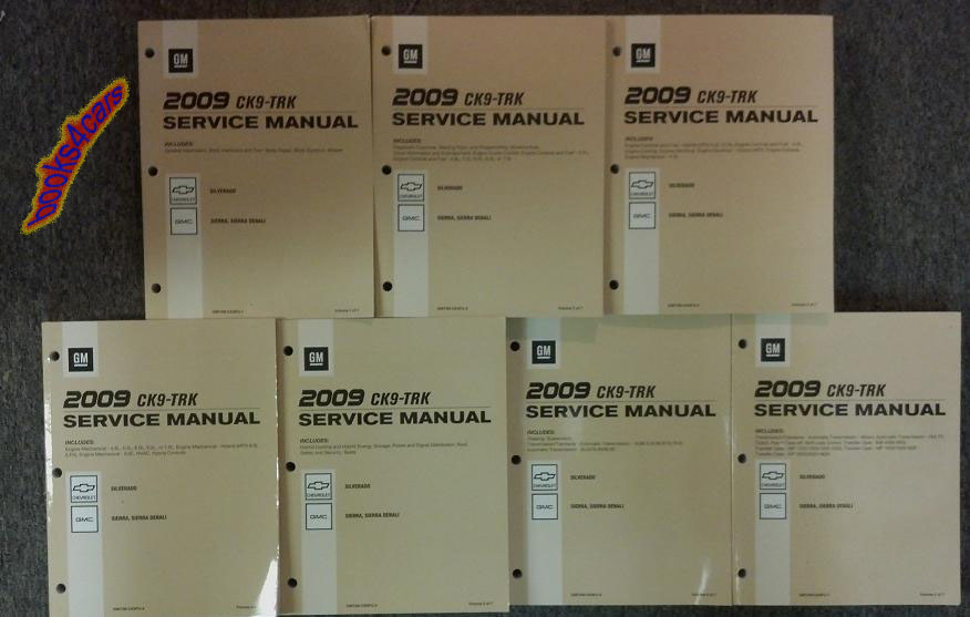 Gm Sierra Manuals At Books4cars Com