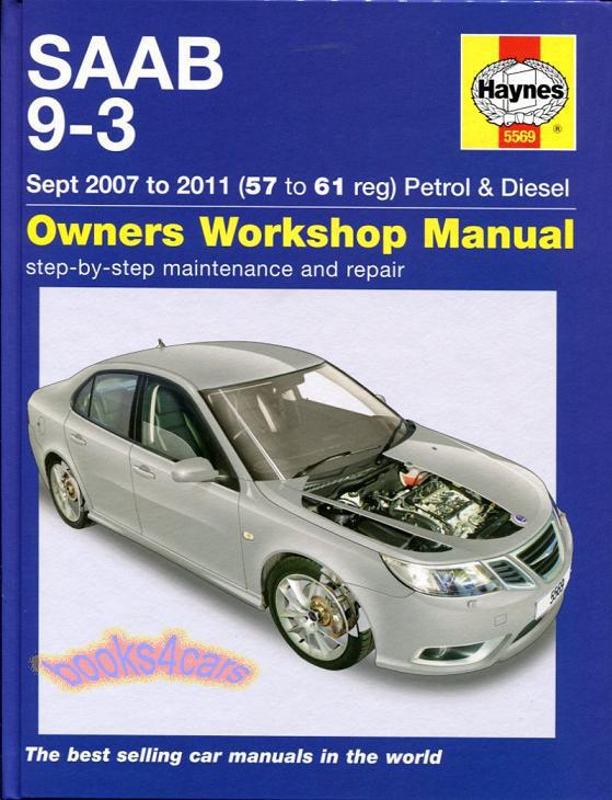 2016 Saab 93 Shop Manual