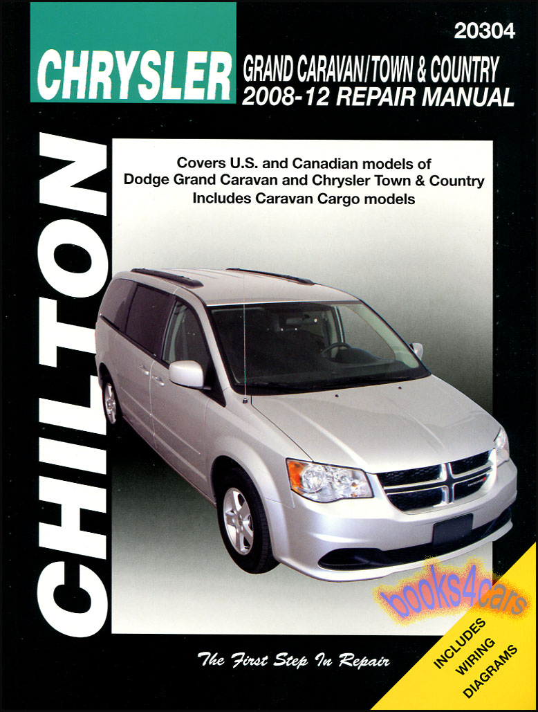 REAL BOOK Bumper to Bumper Shop Service Repair Manual for all 2008-2012  Chrysler Town & Country and Dodge Grand Caravan by Chilton in New,  never-opened ...