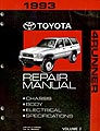 Toyota Truck Factory Repair Manual